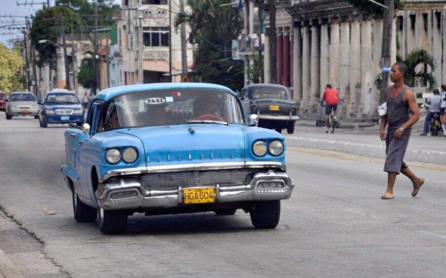 Automobiliai Kuboje