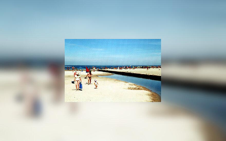 Jūra, pliažas, Palanga