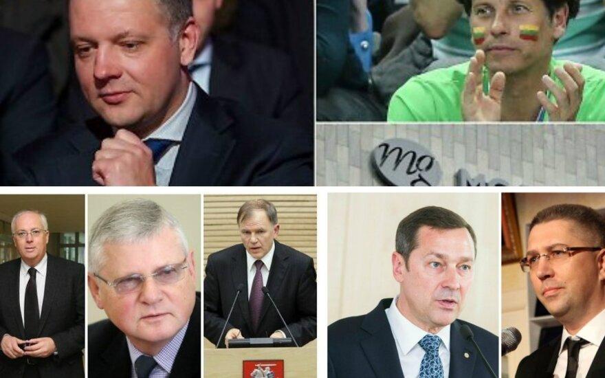 Didžiausios politinės korupcijos bylos nepriklausomos Lietuvos istorijoje