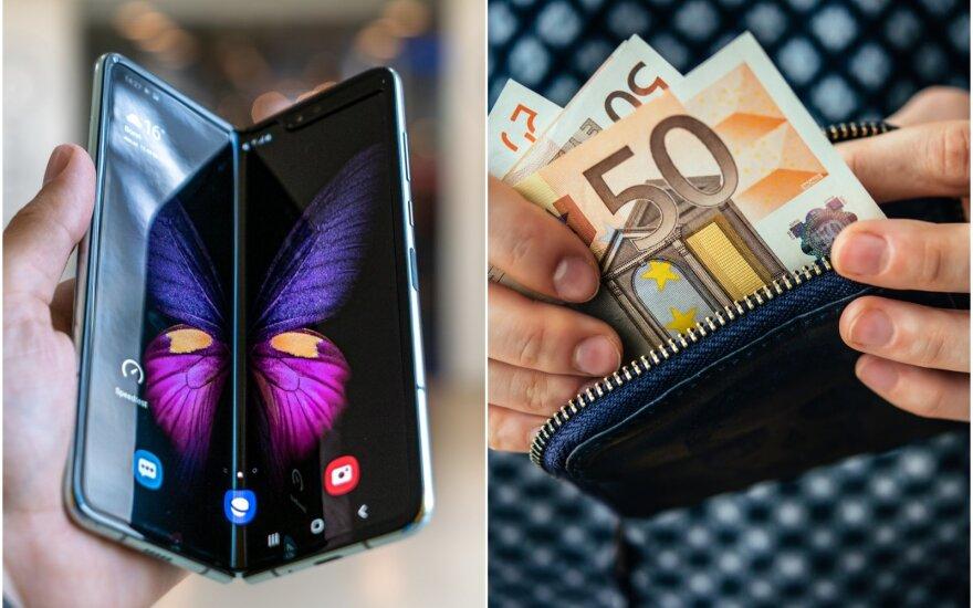 Finansų valdymas telefonu