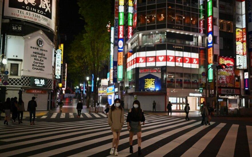 Daugelyje Japonijos prefektūrų bus atšaukta dėl koronaviruso įvesta nepaprastoji padėtis
