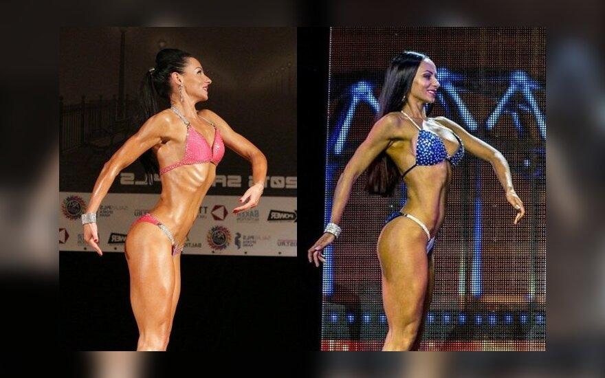 Lietuvė: slėpti nėra ko – dauguma kūno rengybos sportininkių didinosi krūtis