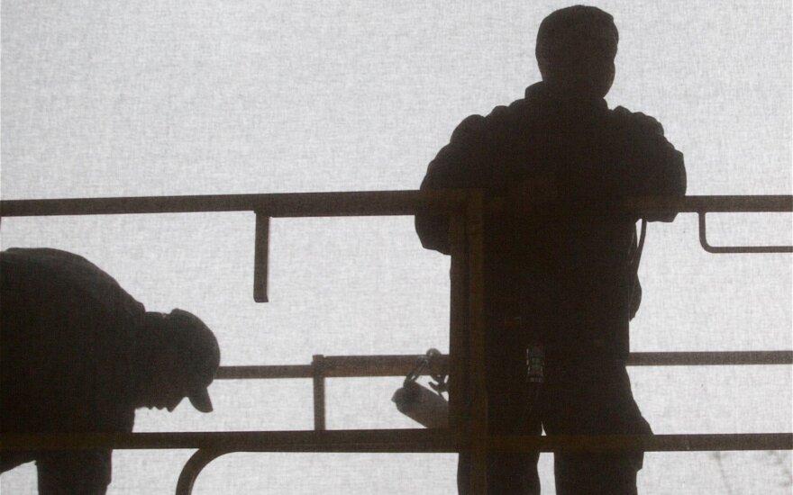 Per ketvirtį nedarbo lygis sumažėjo 0,5 procentinio punkto