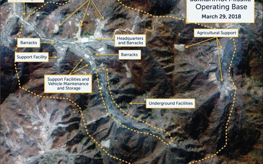 JAV gali nelikti kitos išeities, kaip tik susitaikyti su branduoline Šiaurės Korėja