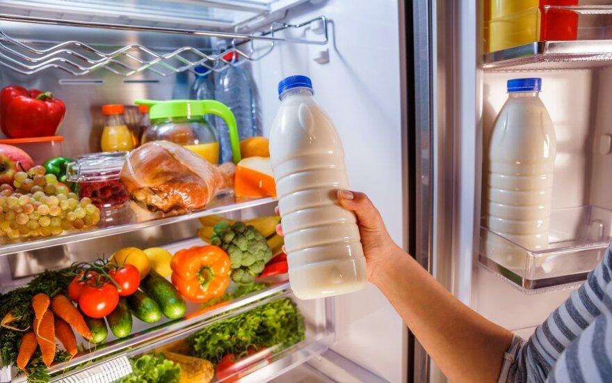 Maisto laikymas šaldytuve
