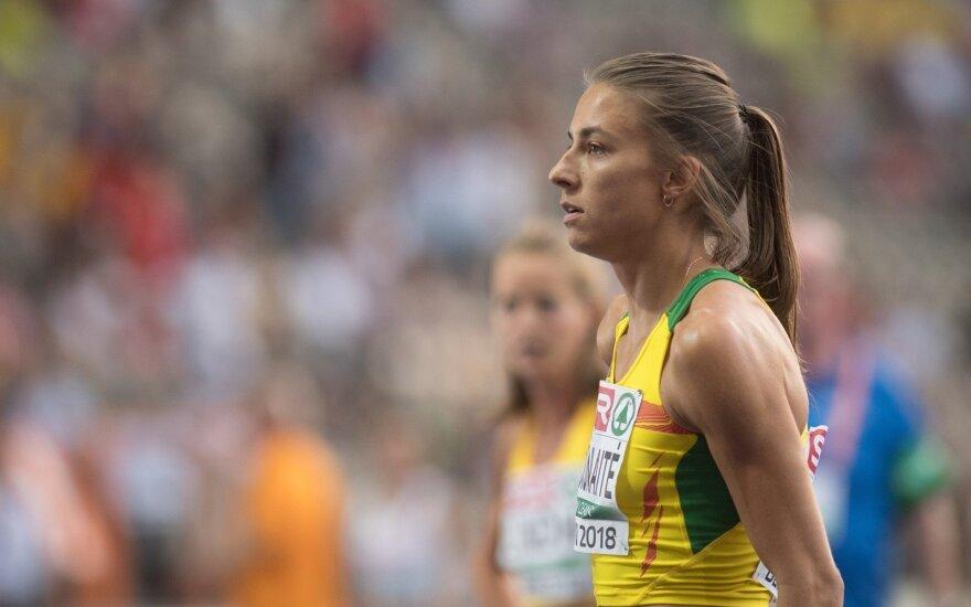 Europos lengvosios atletikos čempionato 800 m bėgimo pusfinalis: Eglė Balčiūnaitė