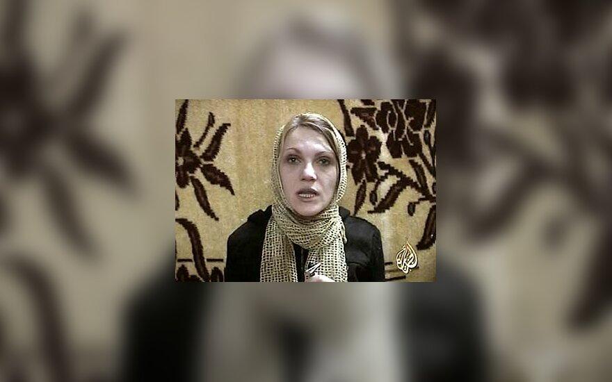 Irake pagrobta rumunė žurnalistė Marie-Jeanne Ion