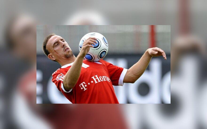 L.van Gaalas: nežinia del F.Ribery turi baigtis
