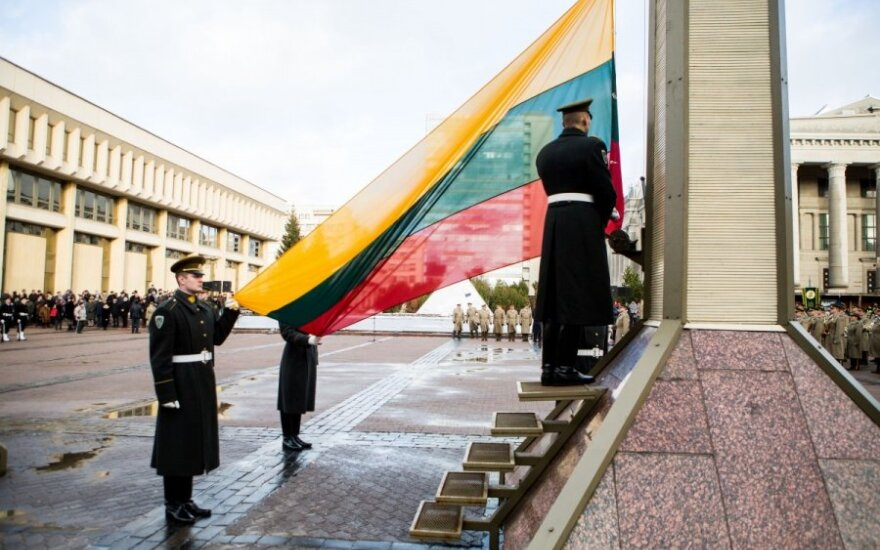 Visuomeninės organizacijos rengia eitynes vėliavai pagerbti