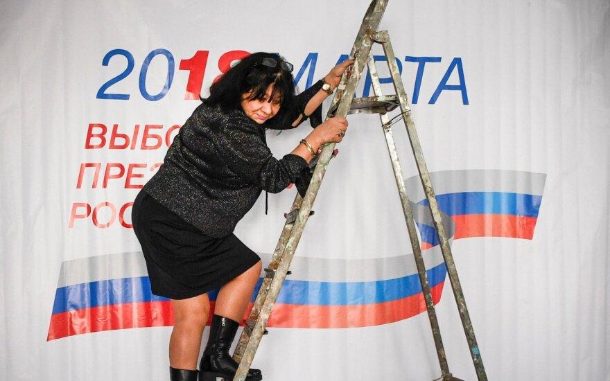 Rusijos darbdaviai verčia savo darbuotojus dalyvauti rinkimuose