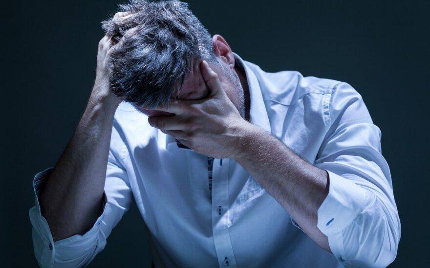 Kodėl depresija gerokai mirtinesnė, jei esi vyras, o ne moteris?