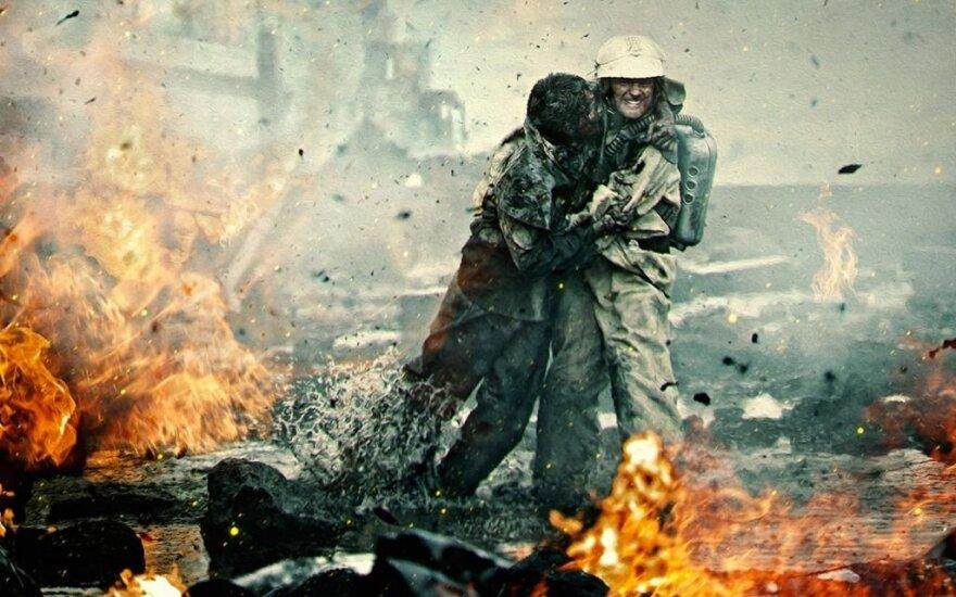 """Filmo """"Černobylis. Bedugnė"""" kadras"""