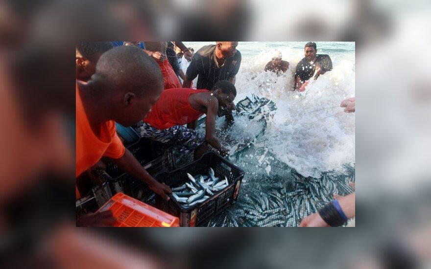 Britų spauda: žuvis Europos rinkai gaudo vergai