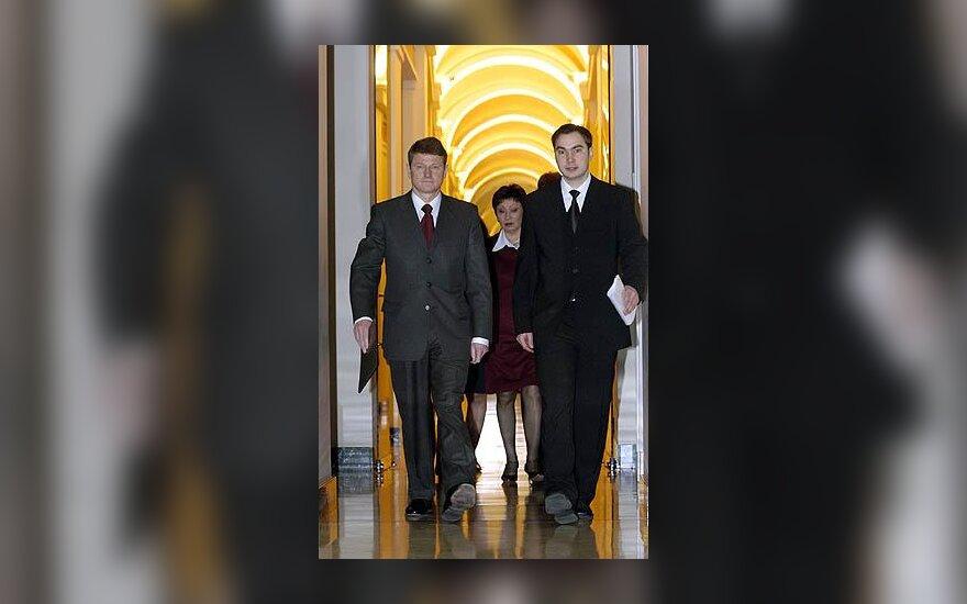 Rolandas Paksas ir Rosvaldas Gorbačiovas