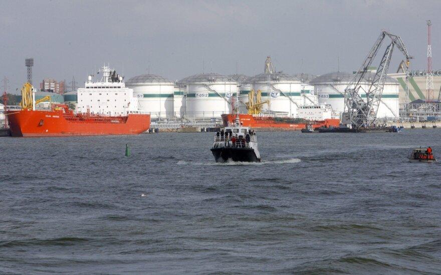 Latakas: greitai nukreipti krovinius į kitus uostus neįmanoma