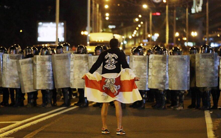 Baltarusijoje organizuojamos masinės demonstracijos visoje šalyje