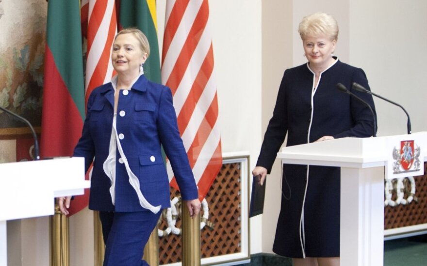 Hillary Clinton, Dalia Grybauskaitė