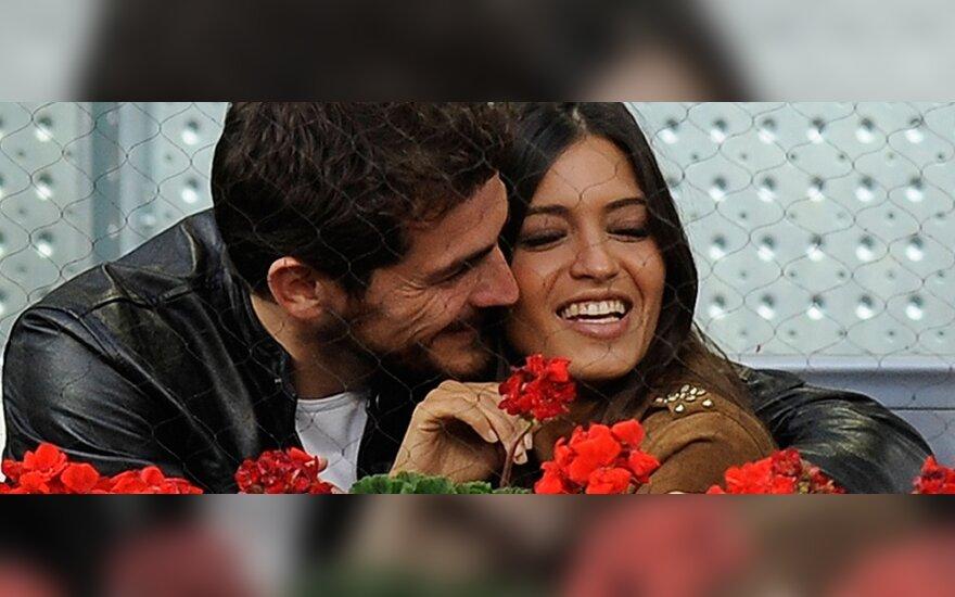 Sara Carbonero ir Ikeras Casillasas