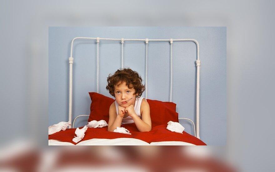 Vaikas serga