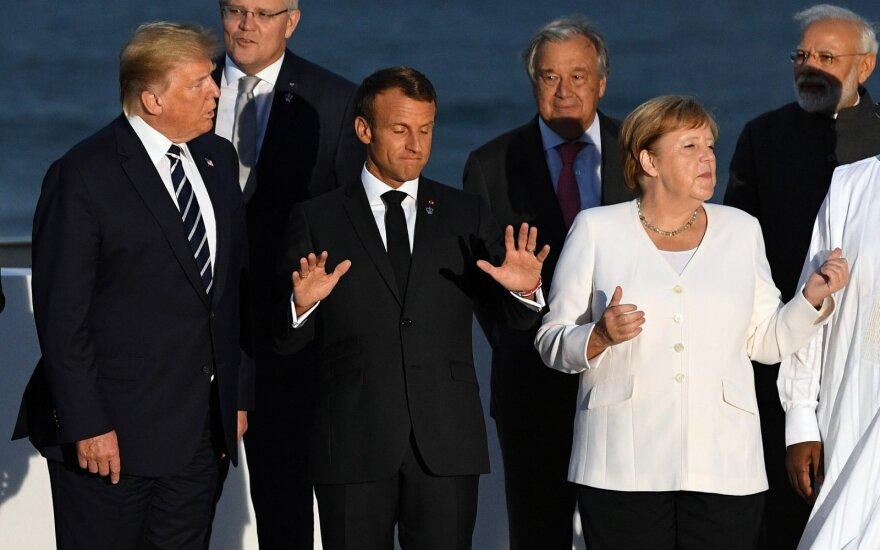 Vokietija ir Prancūzija sieks susitikimo su Putinu Ukrainos klausimu