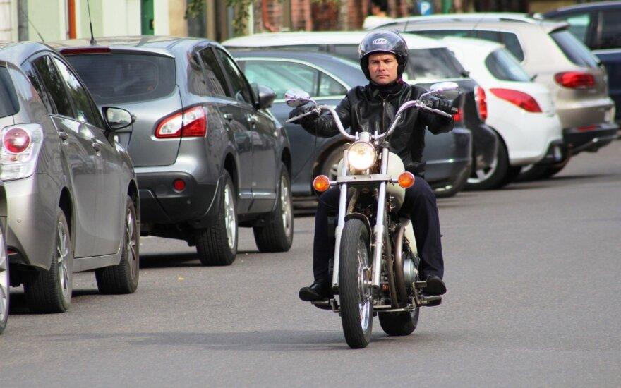 Klaipėdietis sukonstravo dyzelinį motociklą