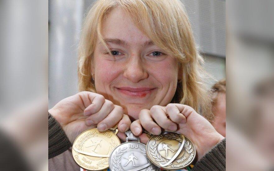 Dopingą vartoję Rusijos biatlonininkai pasitraukė iš pasaulio čempionato