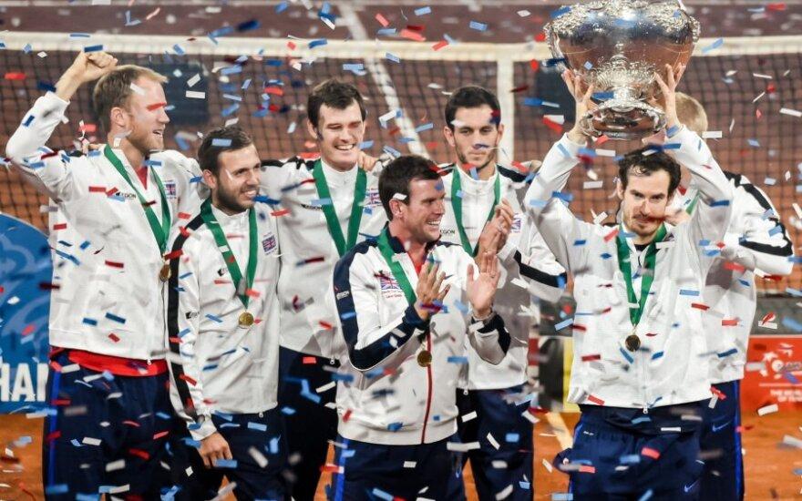 Didžiosios Britanijos tenisininkai laimėjo Deviso taurę
