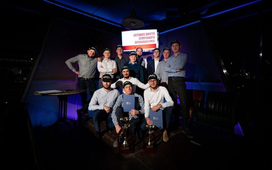 Apdovanoti geriausi šių metų drifto sezono pilotai