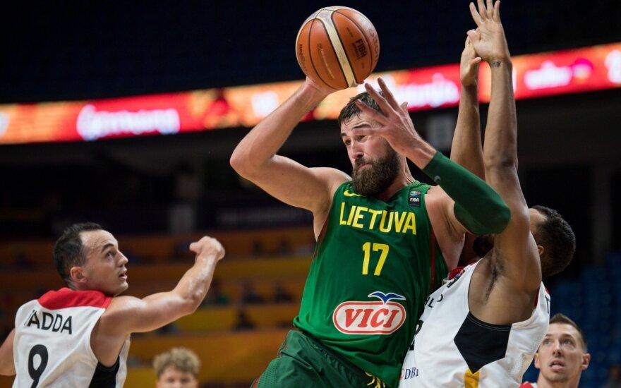 Pergalių seriją pratęsusi Lietuva grupėje finišavo pirma