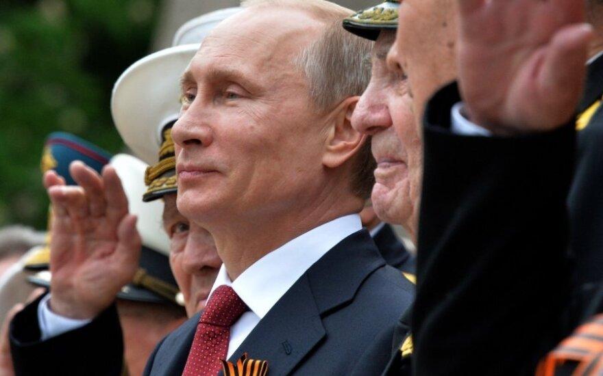 V. Putinas atvyko į Krymą