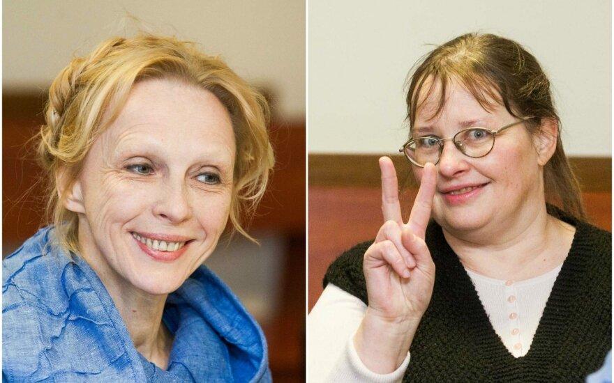 Jurgita Švedienė (kairėje) ir Dalia Jakaitė