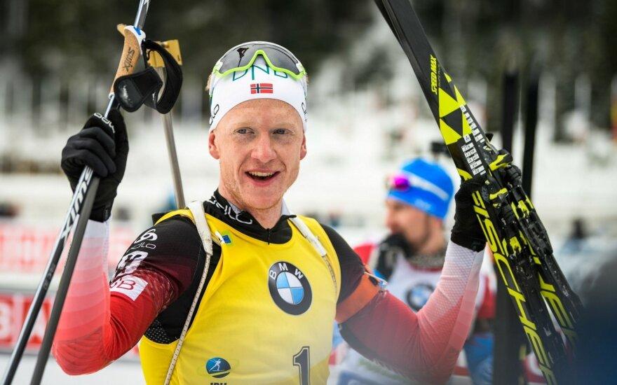 Norvegijos biatlonininkas Johannes Thingnes Boe