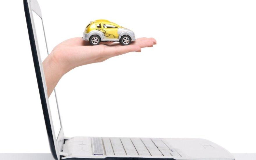 Automobilio pirkimas internetu