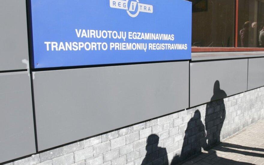 """Duomenys apie transporto priemonę – paklausiausia """"Regitros"""" elektroninė paslauga"""