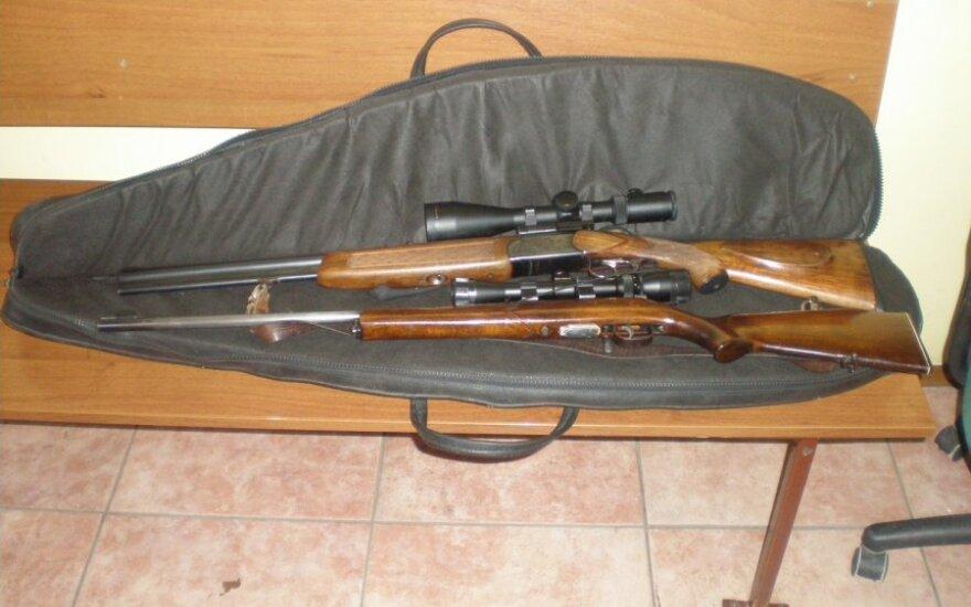 Medžiokliniai šautuvai (Asociatyvi nuotr.)