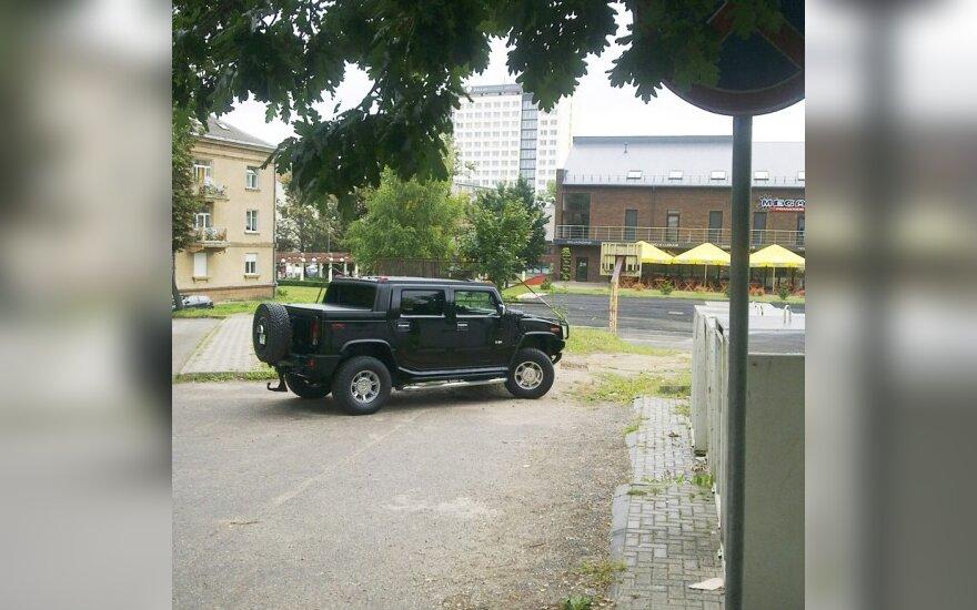 Parkavimas Šiauliuose, Vilniaus g.