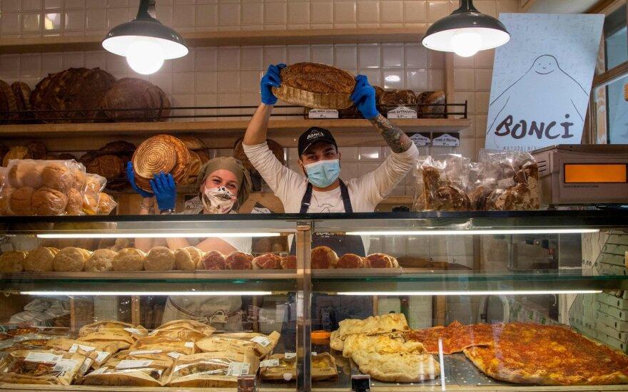 Restoranų tiekėjai strigę su tonomis neparduoto maisto