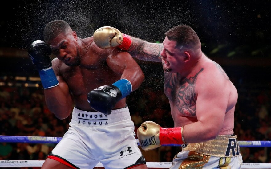 Anthony Joshua ir Andy Ruizas