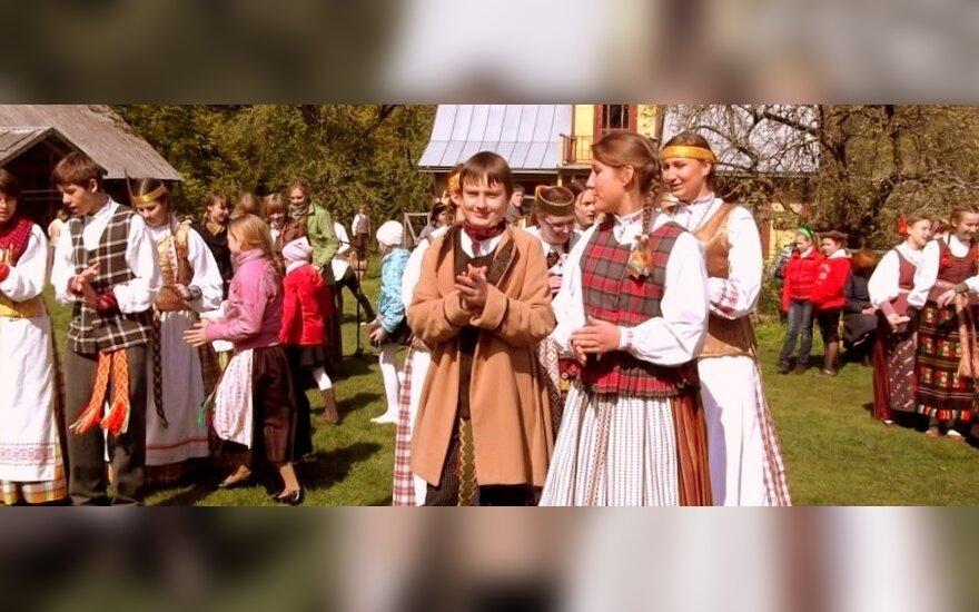 T. Ivanausko Obelynės parkas vėl atgijo