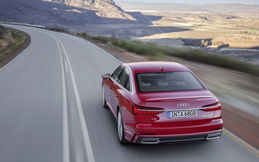 "Aštuntos kartos ""Audi A6"" (asociatyvi nuotr.)"