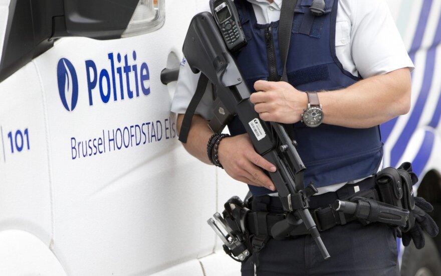 Belgijoje šaudęs vyras taikėsi į policiją