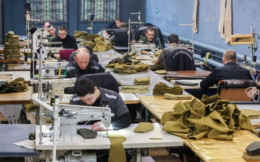 Kaliniai dirba Vladivostoko kalėjime