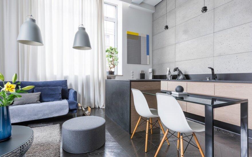 5 baldų pasirinkimo sprendimai jūsų mažai erdvei