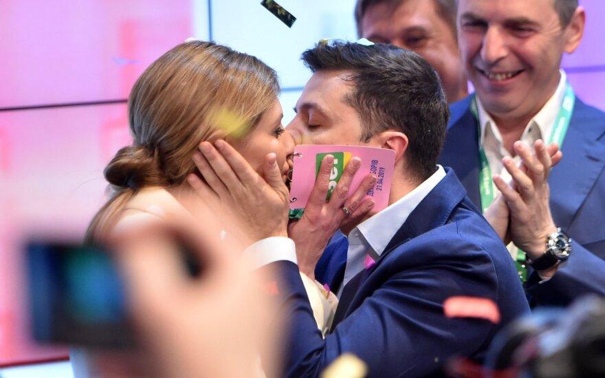 Olena Zelenskaja, Volodymyras Zelenskis