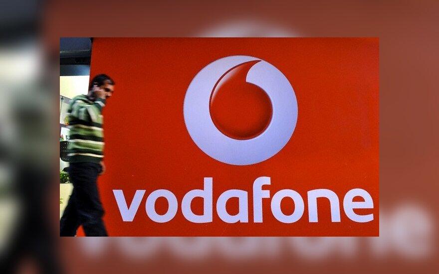 """""""Vodafone"""" patyrė 6,1 mlrd. eurų grynųjų nuostolių"""