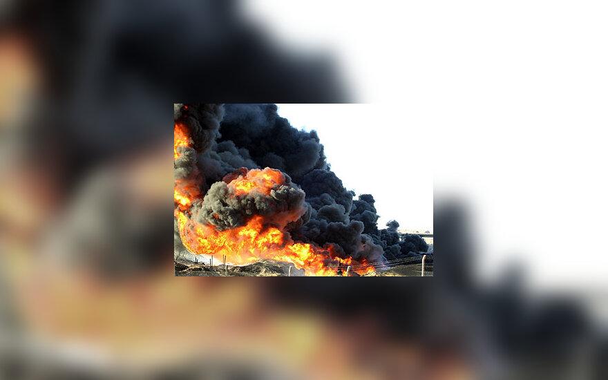 Irake dega naftotiekis