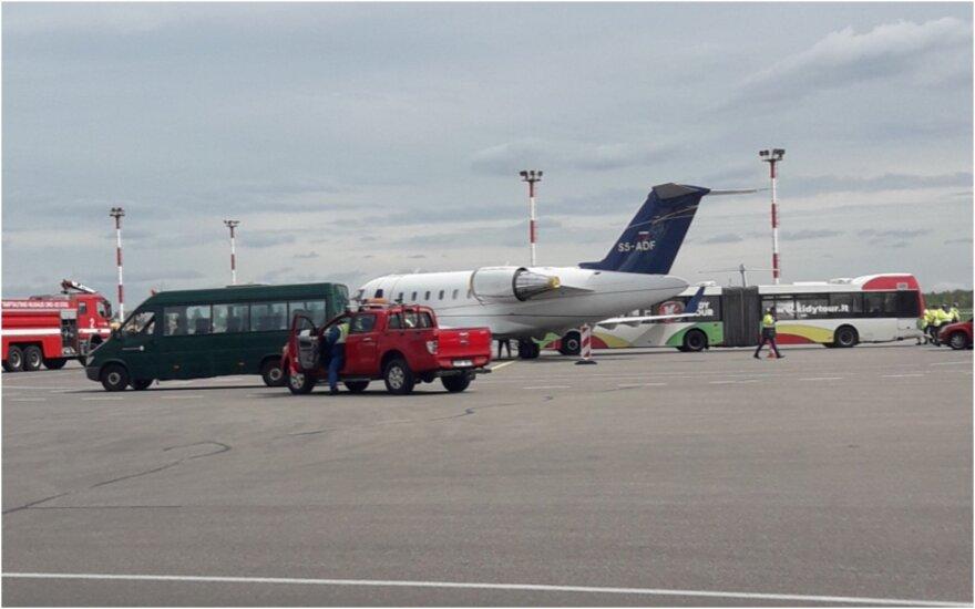 Avarija Vilniaus oro uoste