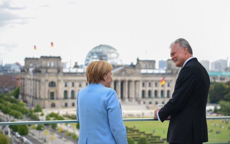 Nausėdos vizito Berlyne užkulisiai: atsargi žvalgyba prieš tikruosius mūšius
