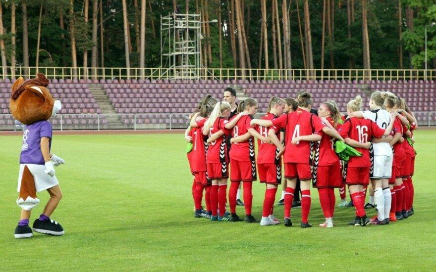 Lietuvos merginų (iki 17 metų) futbolo rinktinė