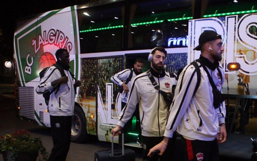"""""""Baskonia"""" krepšininkai atvyko į Kauną"""
